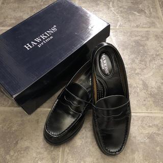 ジーティーホーキンス(G.T. HAWKINS)のhawkins ホーキンス 23.5 美品(ローファー/革靴)