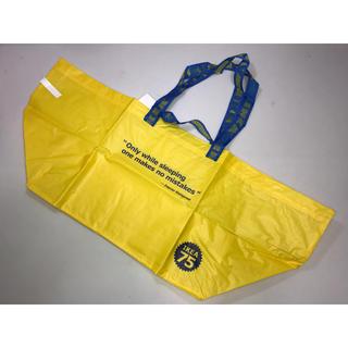 イケア(IKEA)の新品◆IKEA イケア◆75周年限定バッグ ショップバッグショッピングバッグ黄色(ショップ袋)