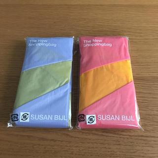 スーザンベル(SUSAN BIJL)の新品 未使用 スーザンベル エコバッグ 2個 セット(エコバッグ)
