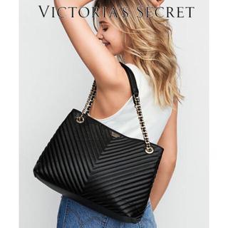 ヴィクトリアズシークレット(Victoria's Secret)の【ブラック】Victoria's Secret トートバッグ(トートバッグ)