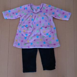 80センチモコモコ子供パジャマ(パジャマ)