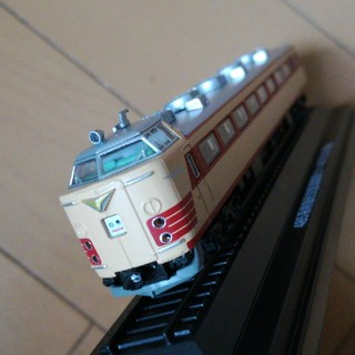 1/150 クハ481 200番白鳥ディスプレイモデル中古(鉄道模型)
