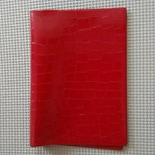 ディーエイチシー(DHC)のブックカバー DHC 赤(ブックカバー)