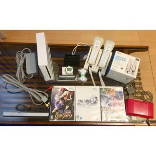ウィー(Wii)のWii 本体 ☆ リモコン ポケモンなどのソフト全てセット✴︎(家庭用ゲーム本体)