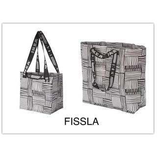 イケア(IKEA)のIKEA   新作FISSLA    S&M 1枚ずつ(エコバッグ)