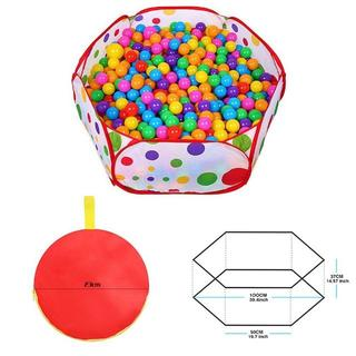 ボールプール ベビーサークル ギッズテント 知育玩具 折り畳み式(ボール)