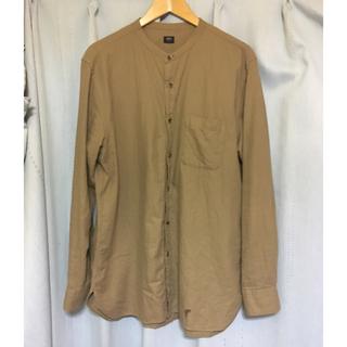 ユニクロ(UNIQLO)のUNIQLO バンドカラーシャツ 美品(シャツ)