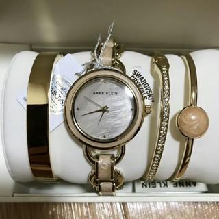 アンクライン(ANNE KLEIN)のおすすめオ✨ Anne Klein腕時計 ブレスレット バングル 4点セット  (腕時計)