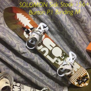SALOMON - SALOMON sickstick 156 ベースワックス乗せ出荷!