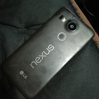 エルジーエレクトロニクス(LG Electronics)のグーグル nexus5x ymobile(スマートフォン本体)