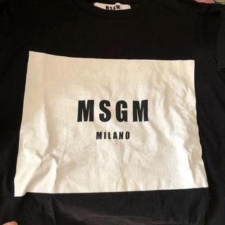 エムエスジイエム(MSGM)のMSGMTシャツ半袖(Tシャツ(半袖/袖なし))