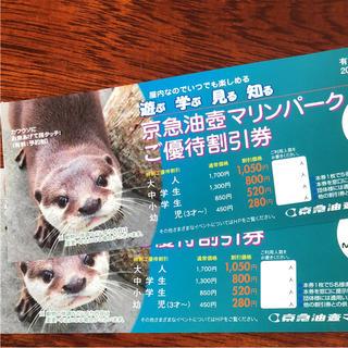 油壺マリンパーク割引券(水族館)