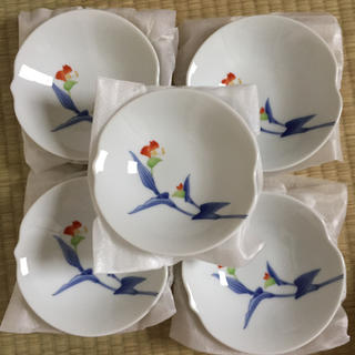 コウランシャ(香蘭社)の香蘭社 有田焼 新品未使用 小皿5枚セット(食器)