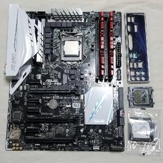 i7-6700k asus-z170pro g.skiilDDR4-8g(PCパーツ)