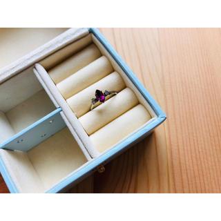 グリモワール(Grimoire)のVintage garnet ring 🥀(リング(指輪))