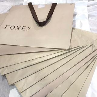 フォクシー(FOXEY)のフォクシー 紙袋 ショッパー FOXEY(ショップ袋)