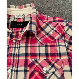エイケイエム(AKM)のAKM チェックシャツ ウエスタンシャツ wjk junhashimoto(シャツ)