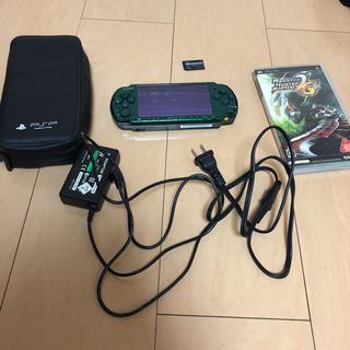 プレイステーションポータブル(PlayStation Portable)のPSP3000本体(携帯用ゲーム本体)