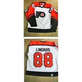 【2着セット】 アイスホッケー NHLレプリカジャージ リンドロス&サキック(ウインタースポーツ)
