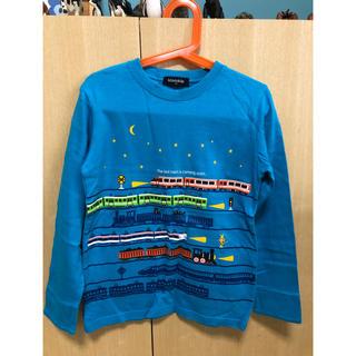 クレードスコープ(kladskap)のkladskap☆電車柄長袖カットソー130(Tシャツ/カットソー)