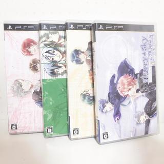 プレイステーションポータブル(PlayStation Portable)のStarry☆Sky 春夏秋冬セット まとめ売り(携帯用ゲームソフト)