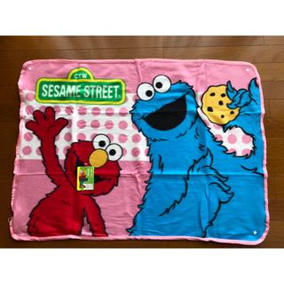 セサミストリート(SESAME STREET)の新品 セサミストリート フリースブランケット 100×70(おくるみ/ブランケット)