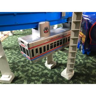 トミー(TOMMY)のプラレール モノレール タイムステーションD51【サービス品付き】(鉄道模型)