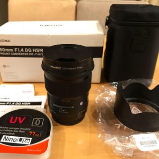 シグマ(SIGMA)のSIGMA 50mm F1.4 DG HSM Art Canon EFマウント(レンズ(単焦点))