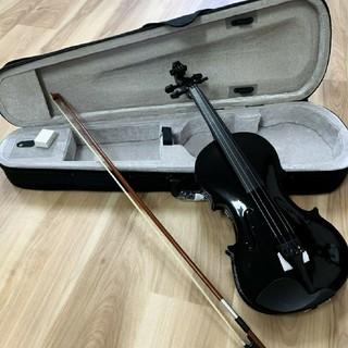 木製ヴァイオリン バイオリン ブラック ゆうパック(ヴァイオリン)