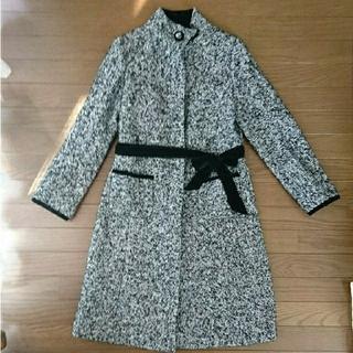 ナルミヤ インターナショナル(NARUMIYA INTERNATIONAL)のナルミヤ ツィード ロングコート 美品(ロングコート)