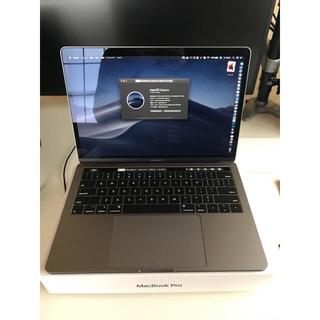 マック(Mac (Apple))の2018モデル MacBook Pro 13inch スペースグレイ(ノートPC)
