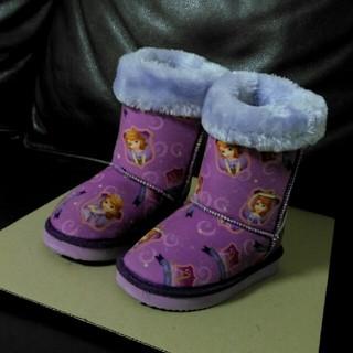 コストコ(コストコ)の子ども ムートン ブーツ 17cm 中古(ブーツ)