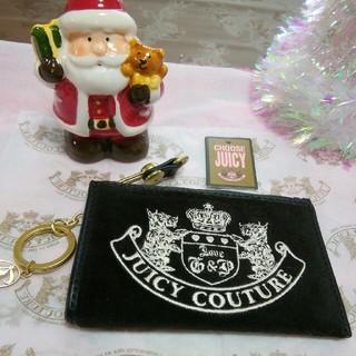ジューシークチュール(Juicy Couture)のJUICY   COUTURE   小銭入れ キーホルダー付き(コインケース)