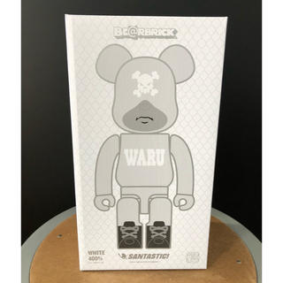 MEDICOM TOY - BE@RBRICK WARU WHITE 400%