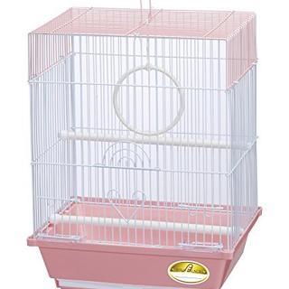 鳥かご ケージ 小鳥 鳥籠 鳥カゴ 【ピンク】即納可★(鳥)