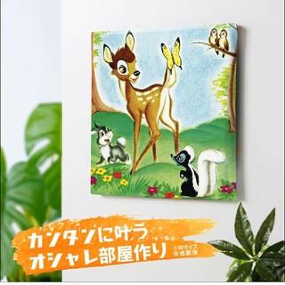 ディズニー(Disney)の新品 未使用☆ディズニーアートデリ ファブリックパネル バンビ☆(ファブリック)