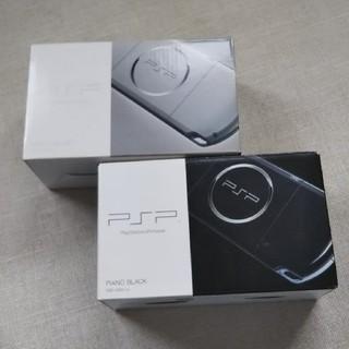 プレイステーションポータブル(PlayStation Portable)のPSP-3000 2つセット(携帯用ゲーム本体)