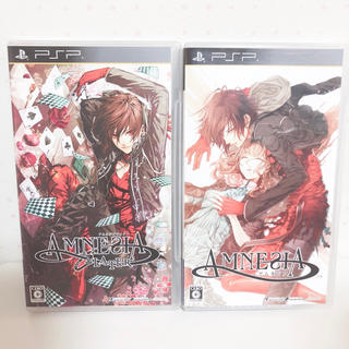 プレイステーションポータブル(PlayStation Portable)のAMNESIA セット(携帯用ゲームソフト)