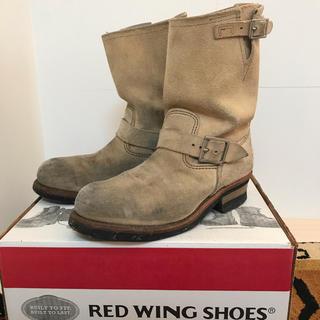 レッドウィング(REDWING)のヨッシー様 RED WING D8268 エンジニア スエード ブーツ サイズ8(ブーツ)