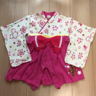 ディズニー(Disney)の袴 ロンパース ミニー(和服/着物)