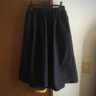 コムデギャルソン(COMME des GARCONS)の18SS コムコム ギャルソン garçons ポリ スカートskirt 美品(ひざ丈スカート)