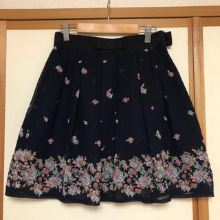 アストリアオディール(ASTORIA ODIER)の花柄スカート(ミニスカート)