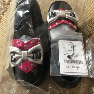 アースマジック(EARTHMAGIC)のアースマジック 靴 23センチ ハート リボン(ブーツ)