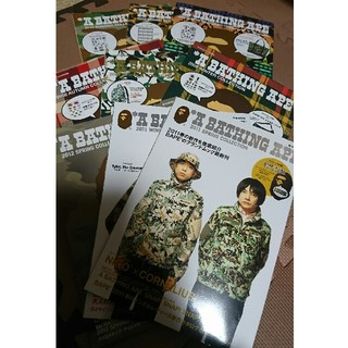 A BATHING APE - ABATHINGAPE ムック本9冊