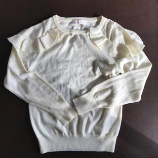 センスオブプレイスバイアーバンリサーチ(SENSE OF PLACE by URBAN RESEARCH)のアーバンリサーチ  センスオブプレイス オフホワイトセーター(ニット/セーター)