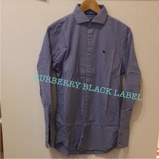 バーバリーブラックレーベル(BURBERRY BLACK LABEL)のバーバリー★チェックシャツ(シャツ)