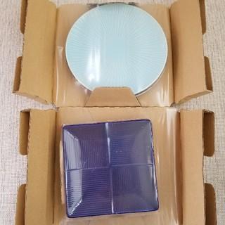 タチキチ(たち吉)の【金麦】幸せのあいあい皿 2種4枚セット(食器)