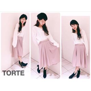 トルテ(TORTE)のイレギュラーヘムスカート✩(ひざ丈スカート)