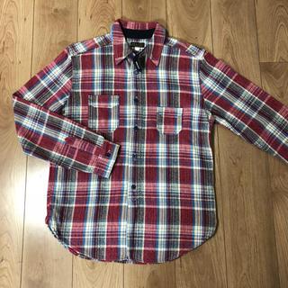シュガーケーン(Sugar Cane)の美品 ジェラード 長袖シャツ チェックシャツ JELADO XL 長袖(シャツ)
