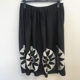 デシグアル(DESIGUAL)の【新品未使用】 Desigual(デシグアル)スカート ブラック(ひざ丈スカート)